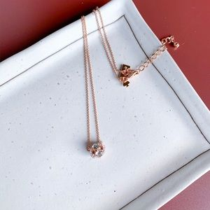 🌿🌿Kate Spade lady marmalade necklace rose gold